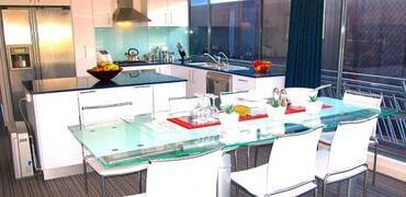 Kitchen- dining area