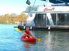 Kayaking at