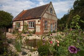 Property Photo: The Old Chapel and garden in summer