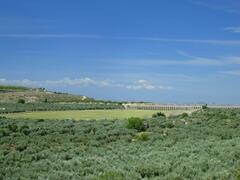 View from the house of Roman aqueduct