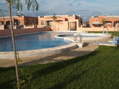 Property Photo: Private communal pool and garden area
