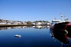 Killybegs, where you can buy fresh fish on the pier