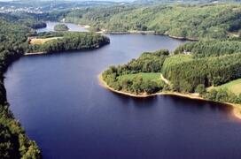 Property Photo: Aerial view of Lac des Barriousses