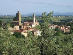 The view from Podere Zollaio