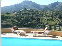 stunning views from the villa
