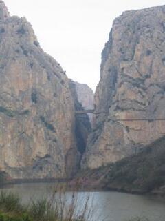 near by El Chorro gorge