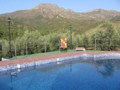 private, secluded swimming pool