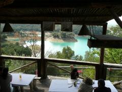 one of the local lakeside restaurants