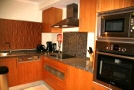 Kitchen with all modern amenities