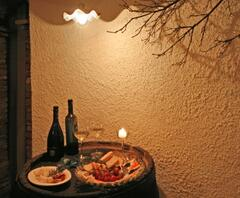 The wine cellar. A wonderful place where you will can taste or take special wine or coktails