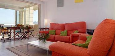 lounge seating area