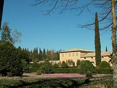 Property Photo: Luxury villa overlooking the park of Castello di Grotti 12 km from Siena in Tuscany