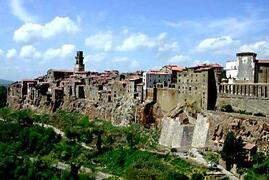Pitigliano - A  vieuw