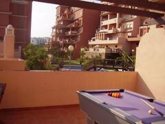 Roof Terrace overlooking pool
