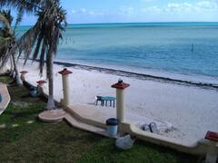 Property Photo: View to Isla Mujeres from the balcony
