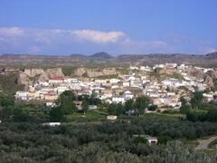 Bacor, picture taken from surrounding olive groves.