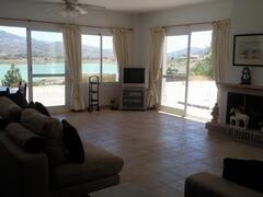 Spacious Open Plan living with panoramic views