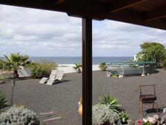 Private garden with seaview