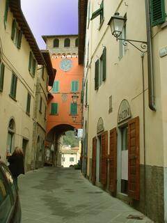 Property Photo: Clock tower - Loro Ciuffenna village
