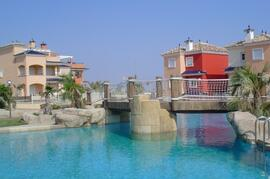 Property Photo: One of the communal pools