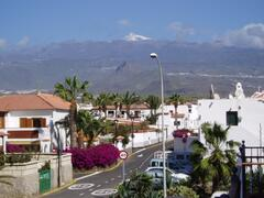 View of Mount Teide from the balcony