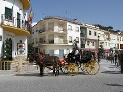 Trabuco village plaza