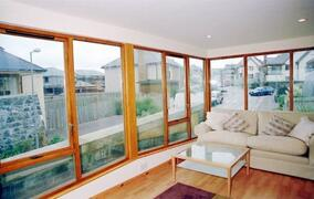 Property Photo: sea-facing sunroom