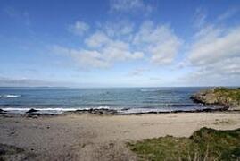 Sandy quiet beach