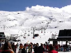 Skiing at Sierra Nevada