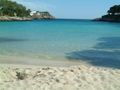 crystal clear waters for bathing 2 mins walk