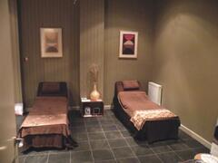 One of the treatment rooms in the Indigo Spa