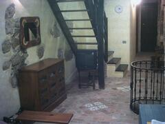 stair for going to the the first floor