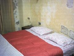 the double bed upstairs