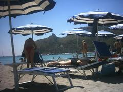 The Poetto Beach (10 minutes by bus)