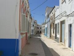 Olhao's quiet streets