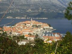 Korcula Old Town is less than a 10 minute walk away.