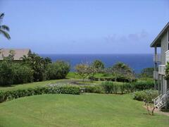 view from Lanai and Living Room