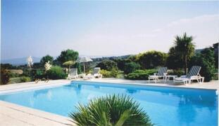 Property Photo: The Swimming Pool at Domaine de Palatz near Carcassonnne