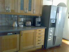 Double-wide fridge & Dishwasher in Portico Apt.