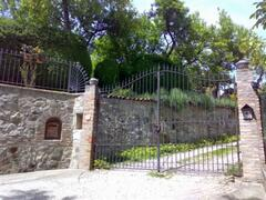Front Gate to Villa