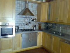 Corner of Large Portico Kitchen