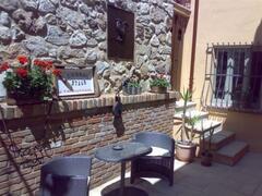 Private Interior Courtyard of Portico Apt.