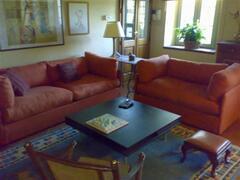 Portico Sitting Area