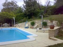 Pool from Front Garden