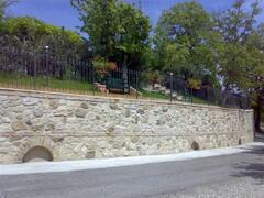 Villa's Front Wall