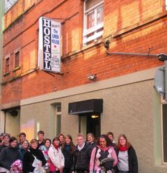Property Photo: group outside hostel