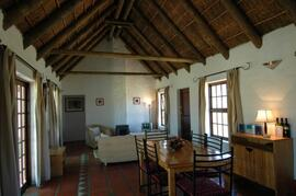 Property Photo: thatched cottage at Mooi Bly