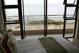 Property Photo: View of whales in the bay from the main bedroom.