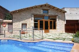 Property Photo: La Cabanya and its private pool