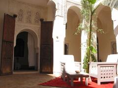 Property Photo: Riad Al Jazira: Fontain Patio